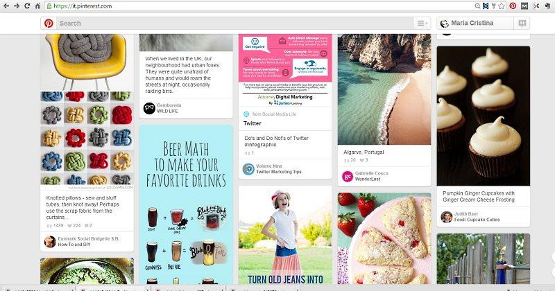 Pinterest e il bottone 'compra', una scelta annunciata