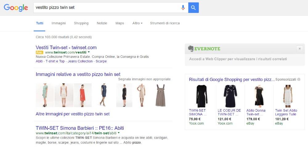Google-serp-ecommerce