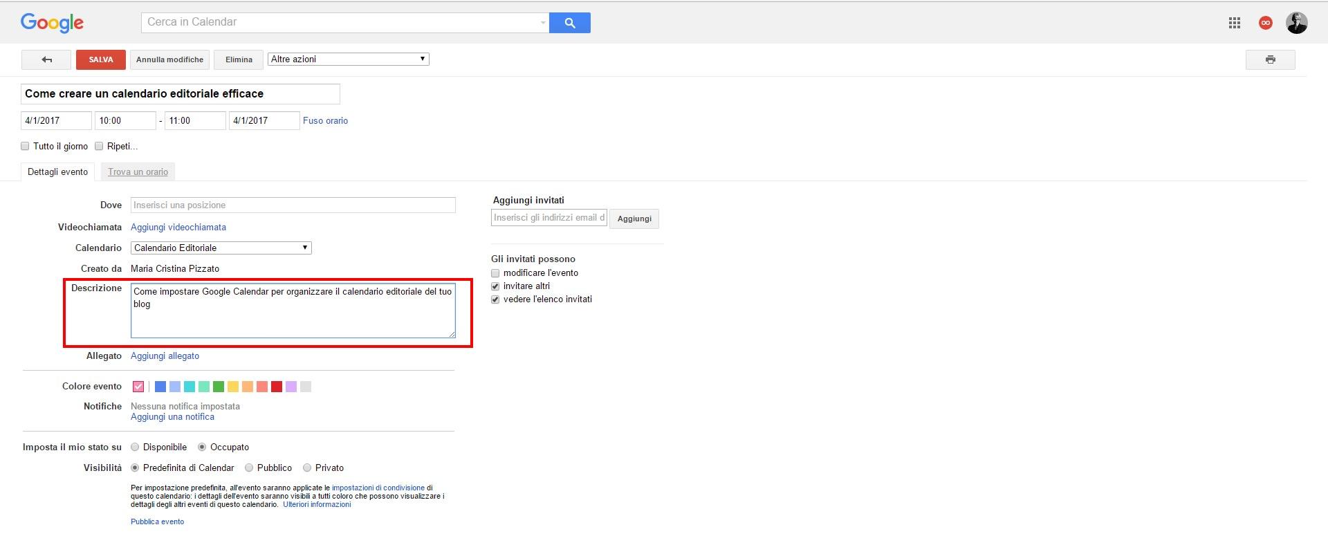 modifica-CalendarioEditoriale-Google-calendar